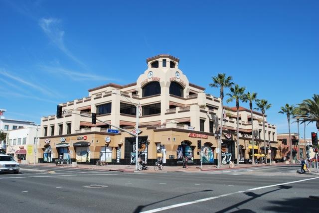 Main Street Huntington Beach Offices For Lease Ronnie Thornton Core Spotlight Jacks Surfboards Ca